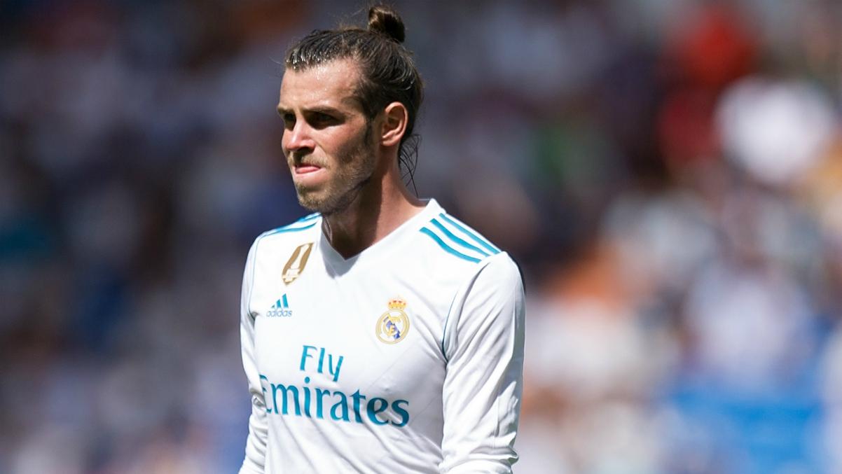 Bale, en un partido con el Real Madrid. (Getty)