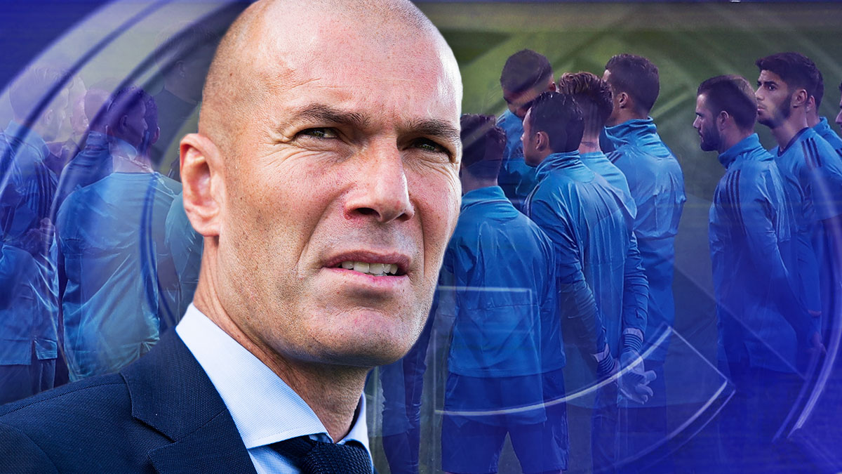 Zinedine Zidane no niega que necesiten refuerzos.