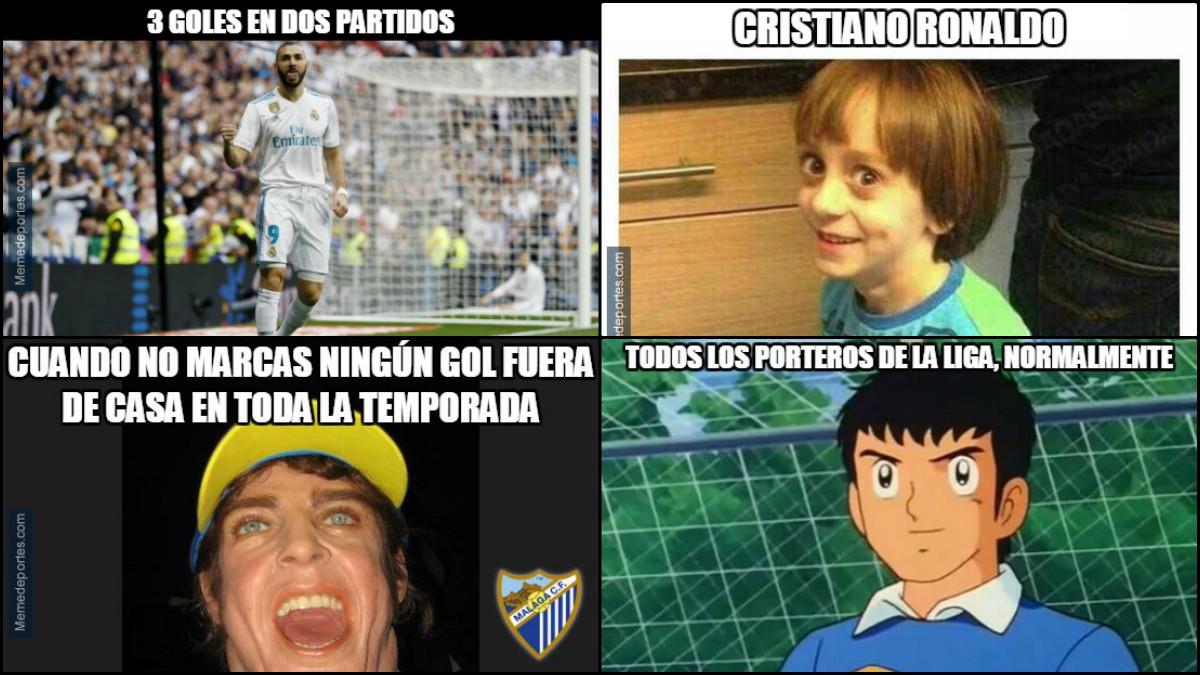 Los mejores memes del Real Madrid-Málaga.