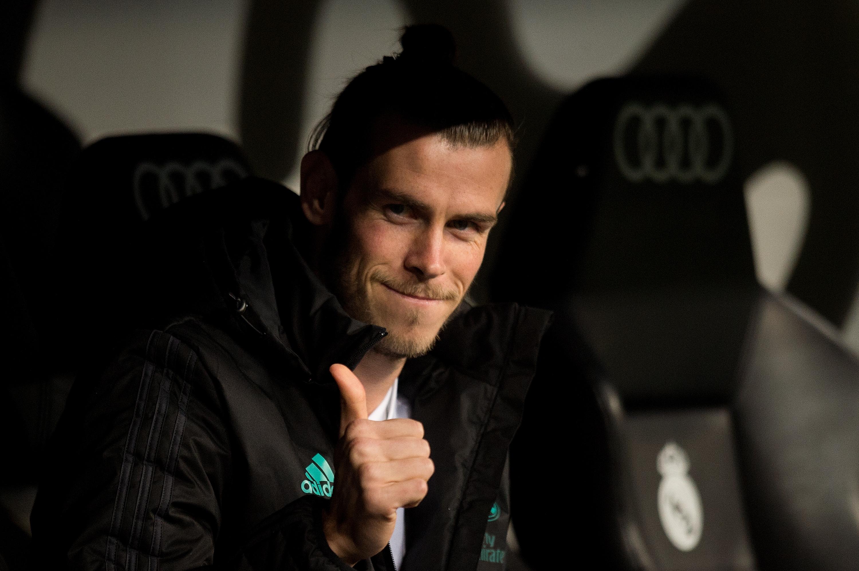 Bale, en el banquillo en el duelo ante el Fuenlabrada. (Getty)