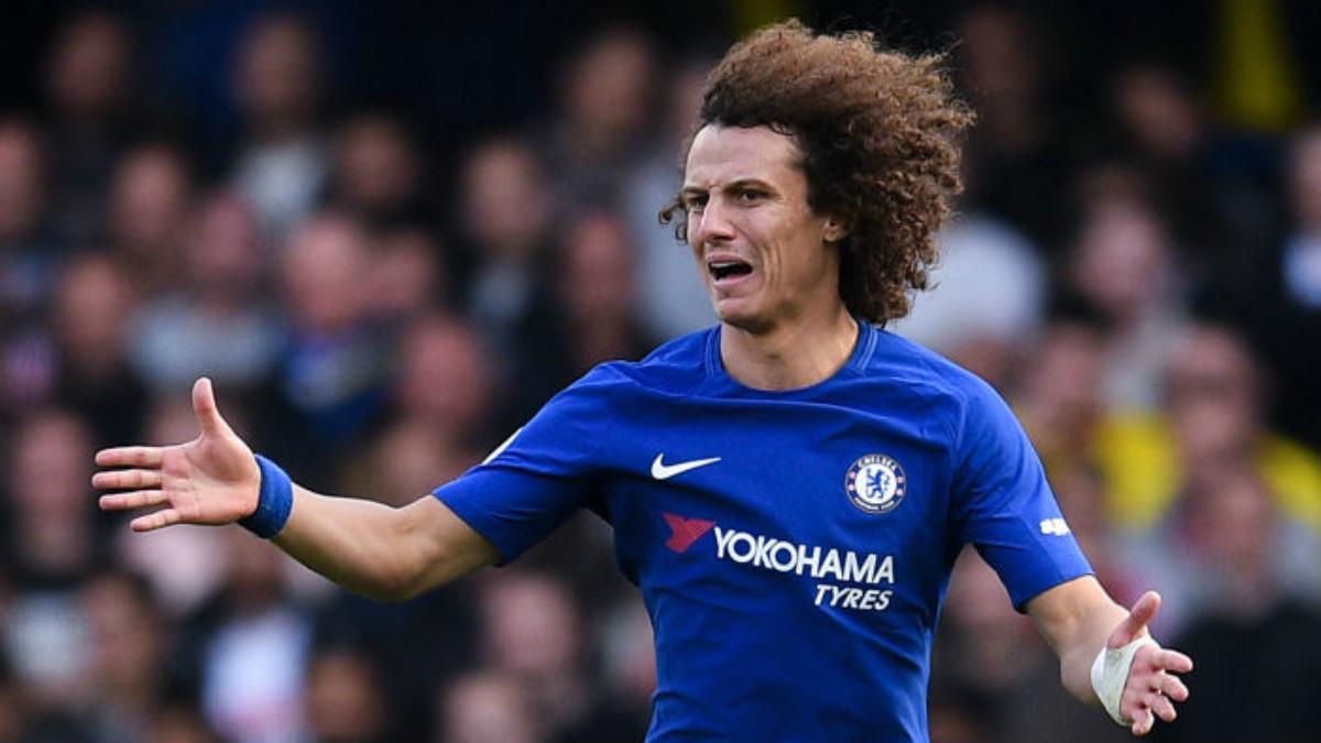 David Luiz teme que dejar de contar para Conte, le repercuta en la 'canarinha' (Getty).