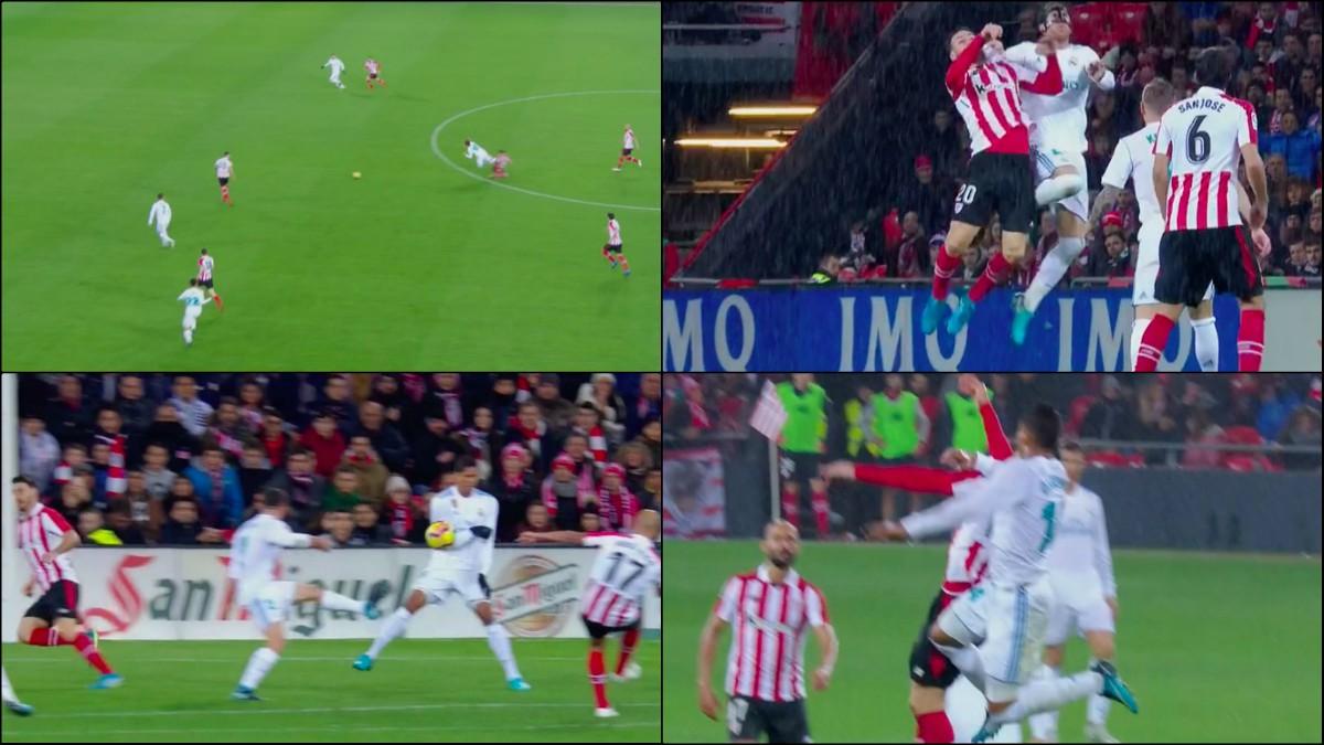 El Athletic Vs Real Madrid dejó varias jugadas polémicas.