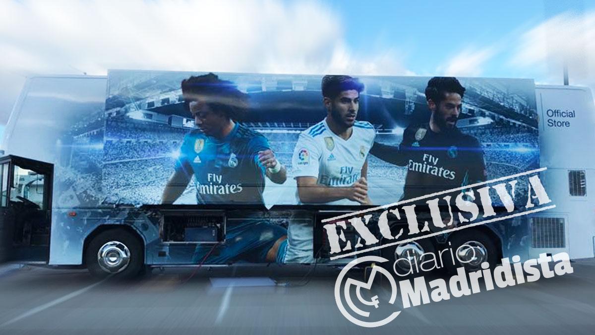 El Real Madrid prepara una tienda ambulante para recorrer toda España