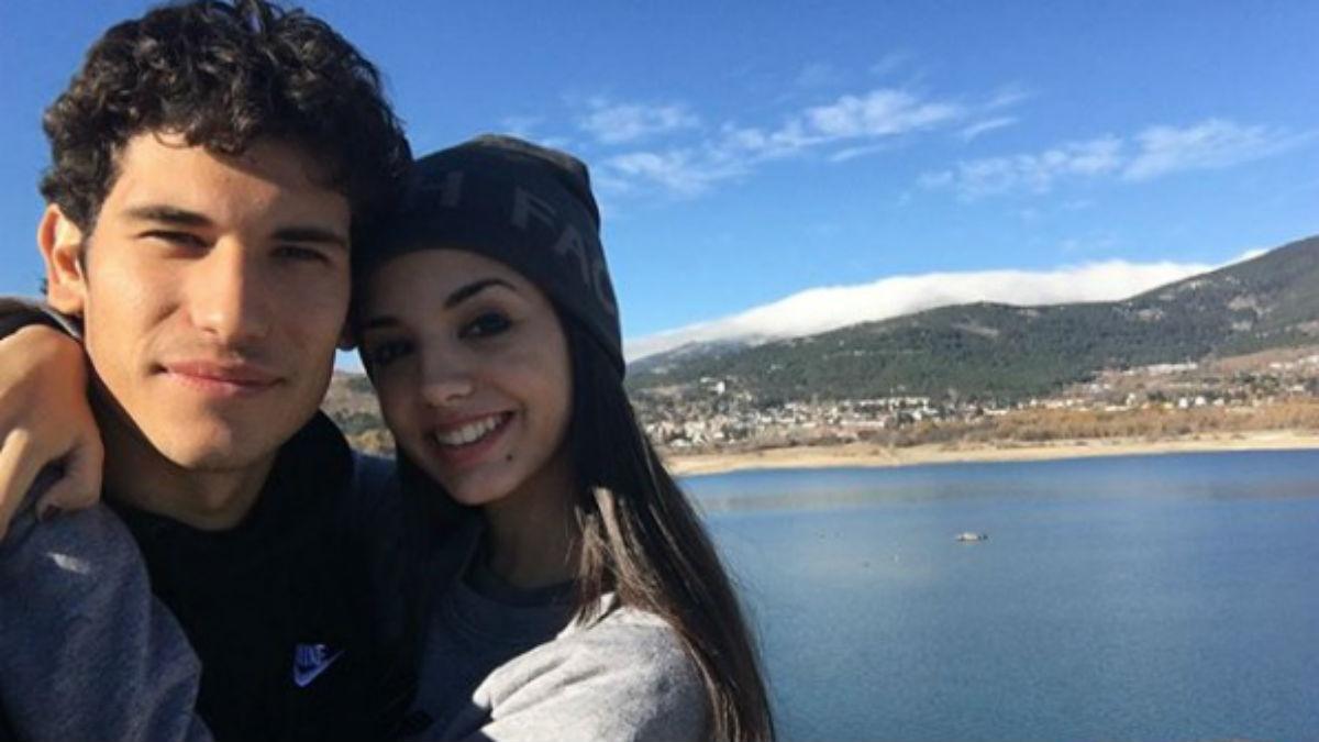 Jesús Vallejo presenta a su novia, María Delgado, en su cuenta de Instagram (IG).