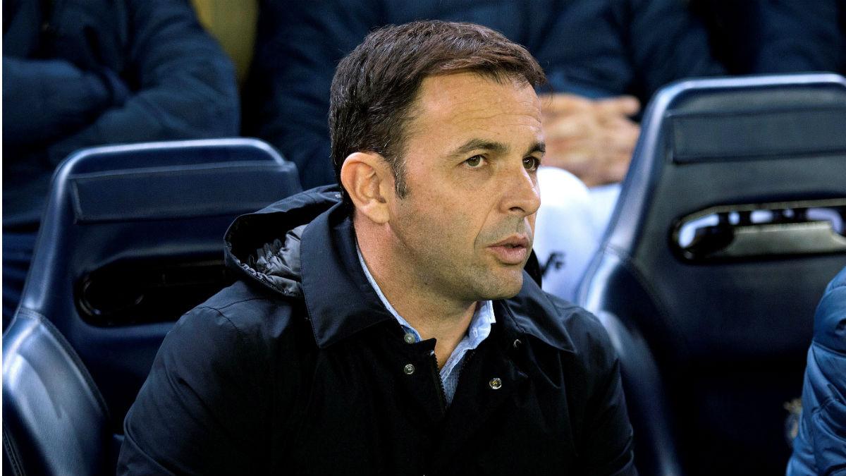 Javi Calleja, técnico del Villarreal. (EFE)