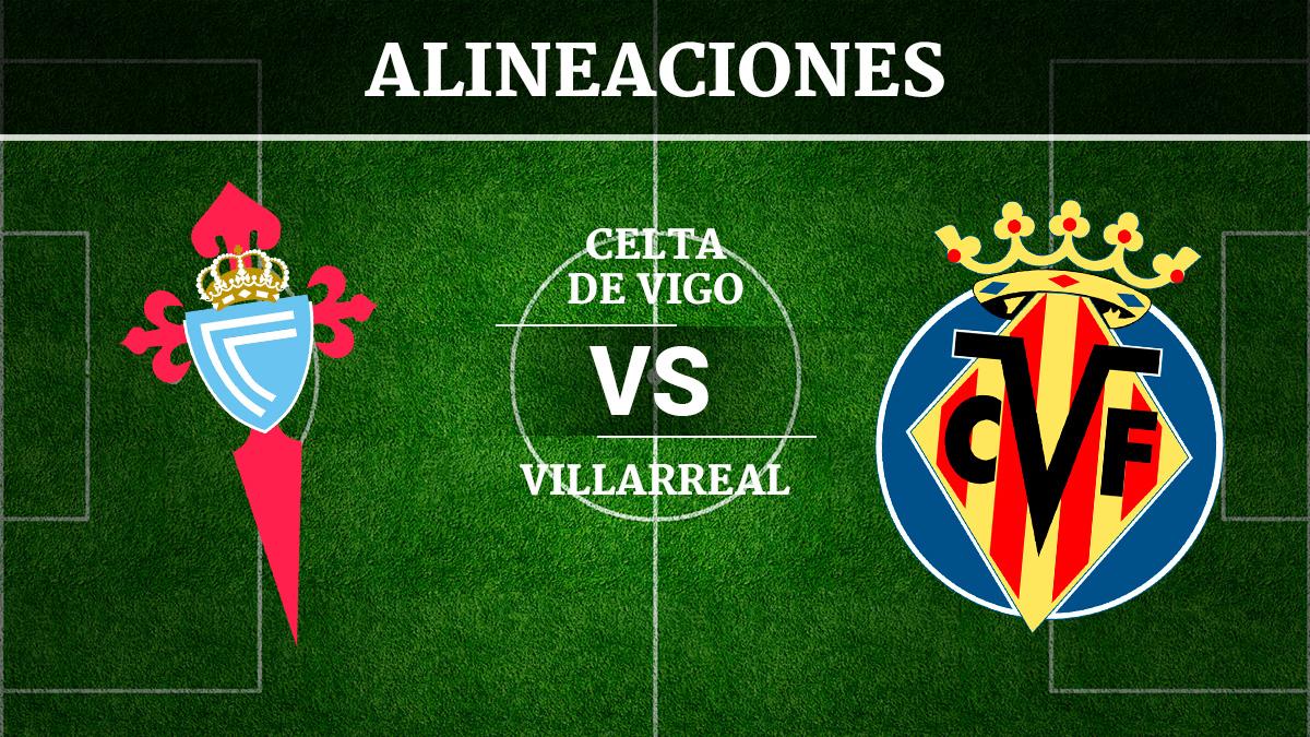 Consulta las posibles alineaciones del Celta de Vigo vs Villarreal