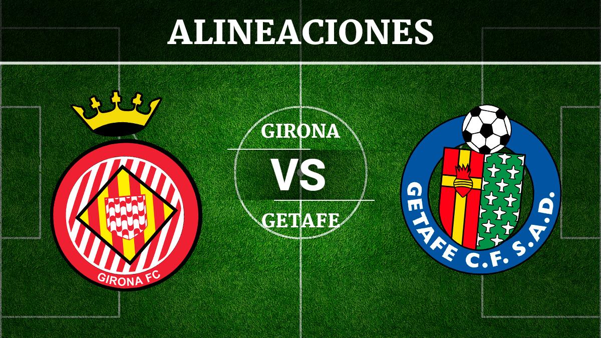 Consulta las posibles alineaciones del Girona vs Getafe