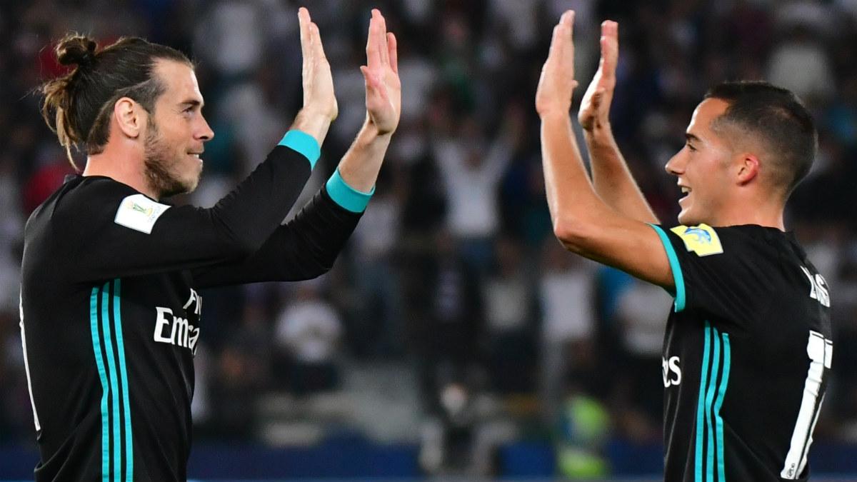 Bale celebra el 2-1 del Real Madrid. (AFP)