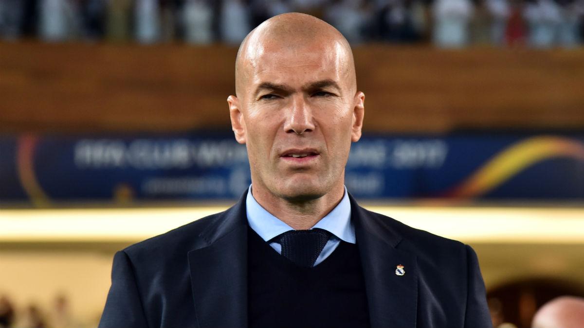 Zidane durante las semifinales del Mundial. (AFP)