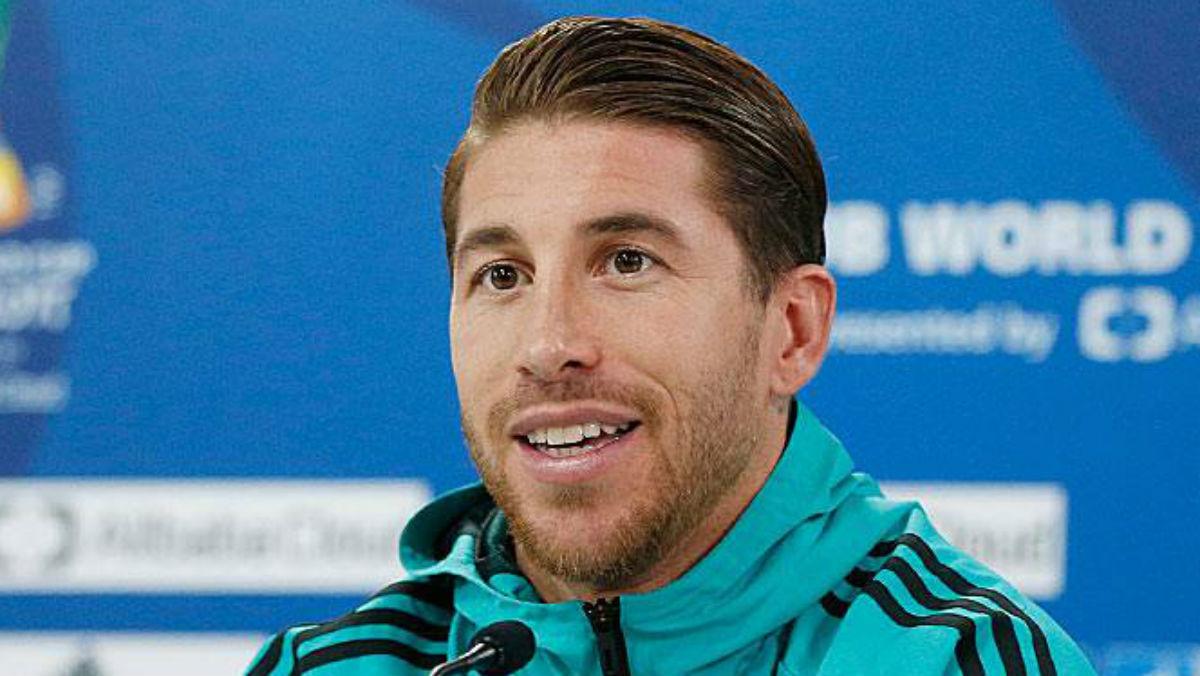 Sergio Ramos en rueda de prensa. (Realmadrid.com)