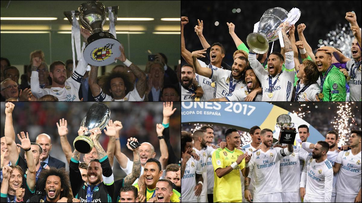 El Real Madrid quiere cerrar un 2017 histórico.