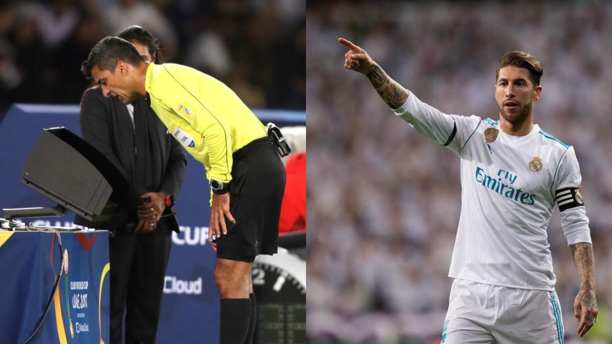 Sergio Ramos se muestra a favor del VAR, al considerarlo «más justo».