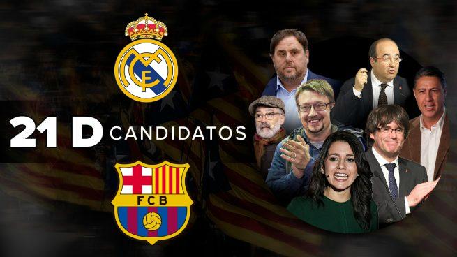 Los candidatos a las elecciones de la Generalitat opinan sobre el Clásico.