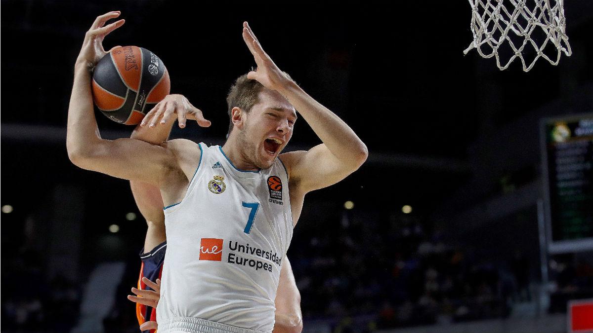 Luka Doncic ha sido multado por la Euroliga. (EFE)