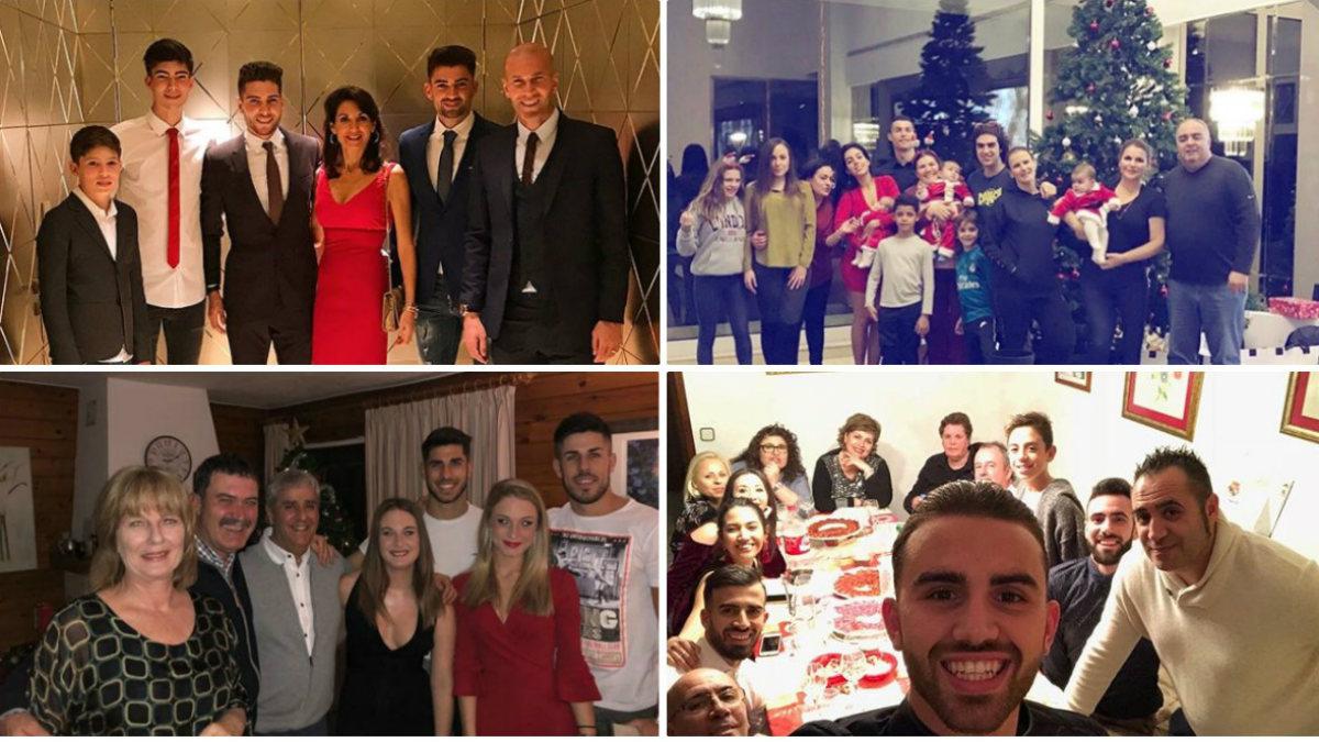 Así pasaron la Nochebuena los jugadores del Real Madrid.