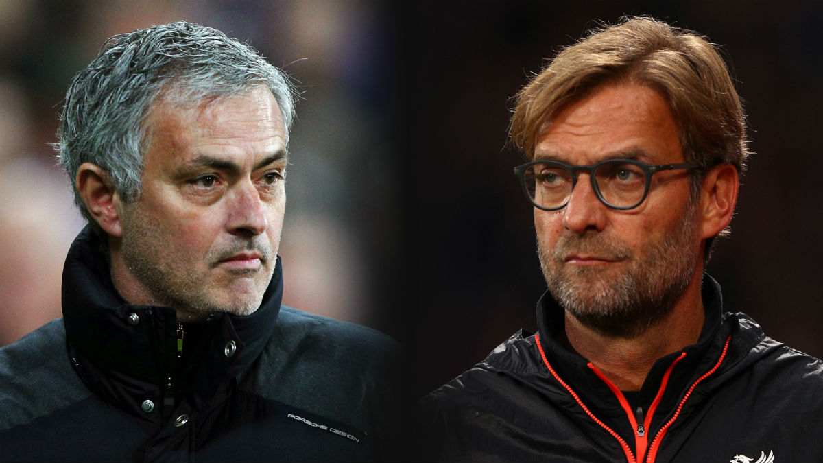 Mourinho y Klopp. (Getty)