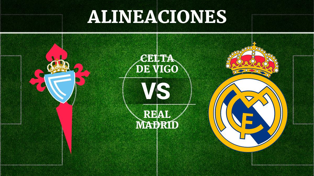 Consulta las posibles alineaciones del Celta de Vigo vs Real Madrid