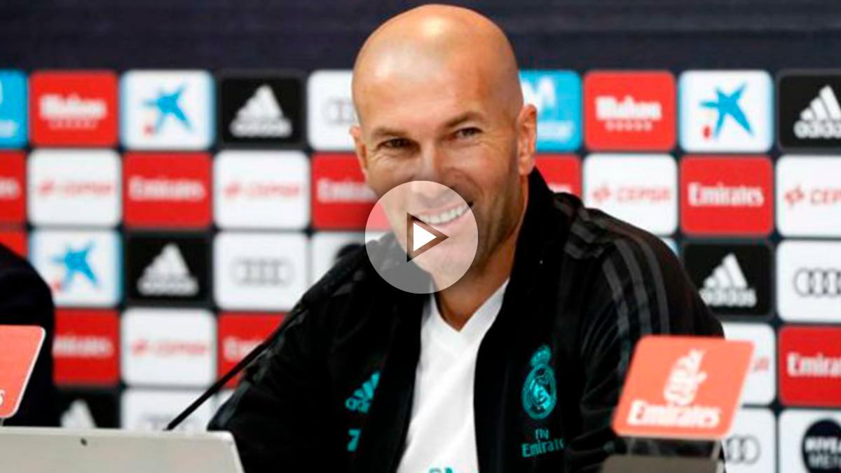Zidane habló claro de los próximos movimientos del Real Madrid.