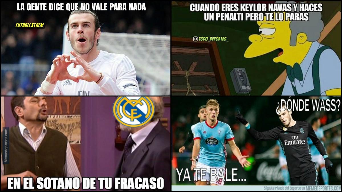 Los mejores memes del Celta-Real Madrid.