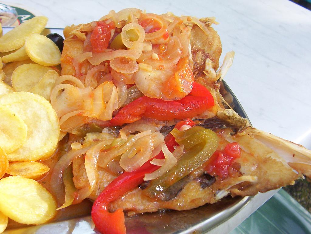 Bacalao a la portuguesa, receta tradicional