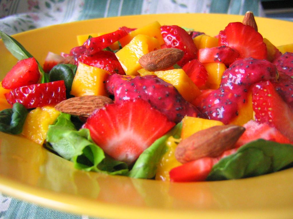 Ensalada tropical diurética