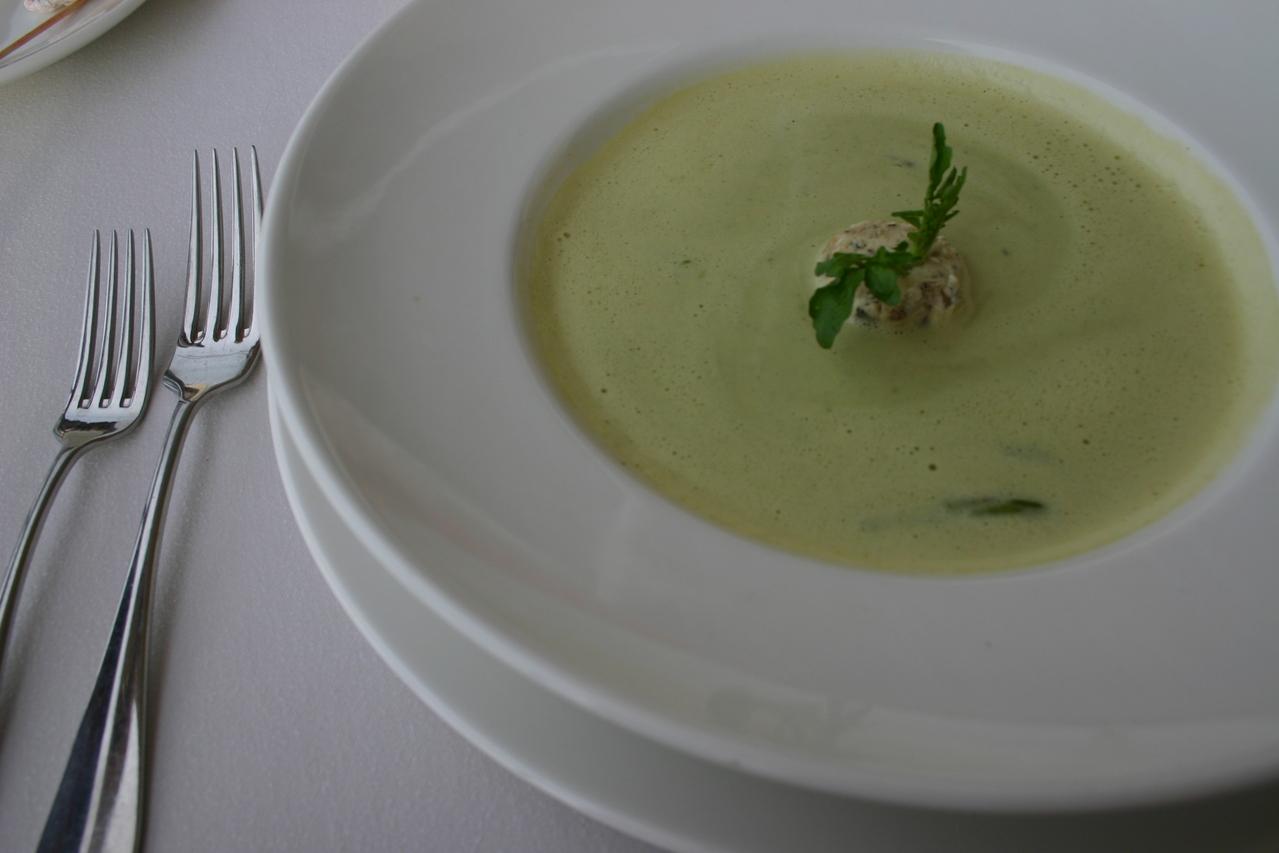 Sopa de chile verde