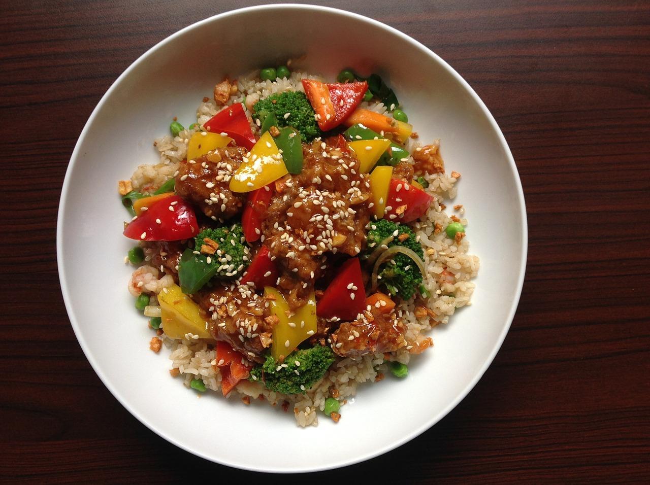 Receta de ensalada de arroz blanco