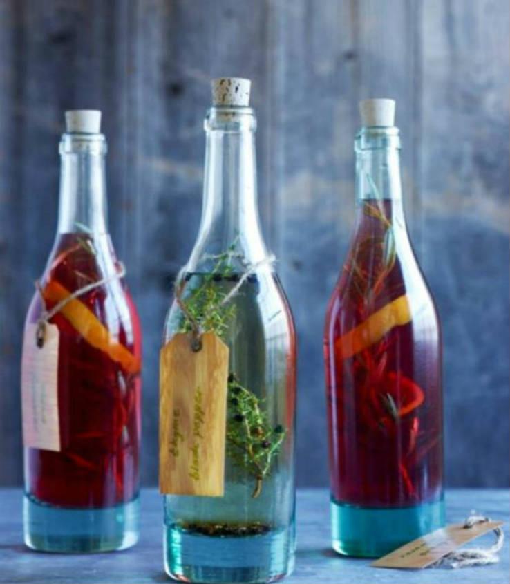 Cómo hacer vinagres aromatizados 5