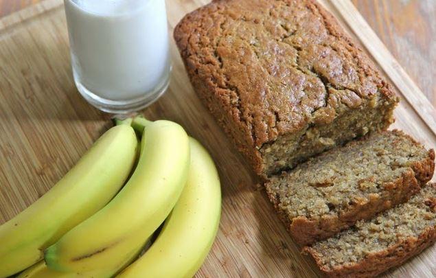 Receta de Pan de Plátano o Banana Bread (receta norteamericana) - Ingredientes