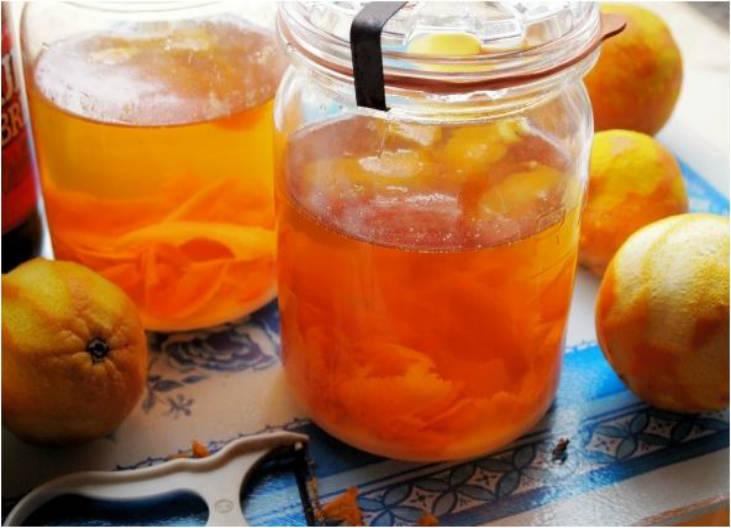 Receta de Licor de Naranja Casero