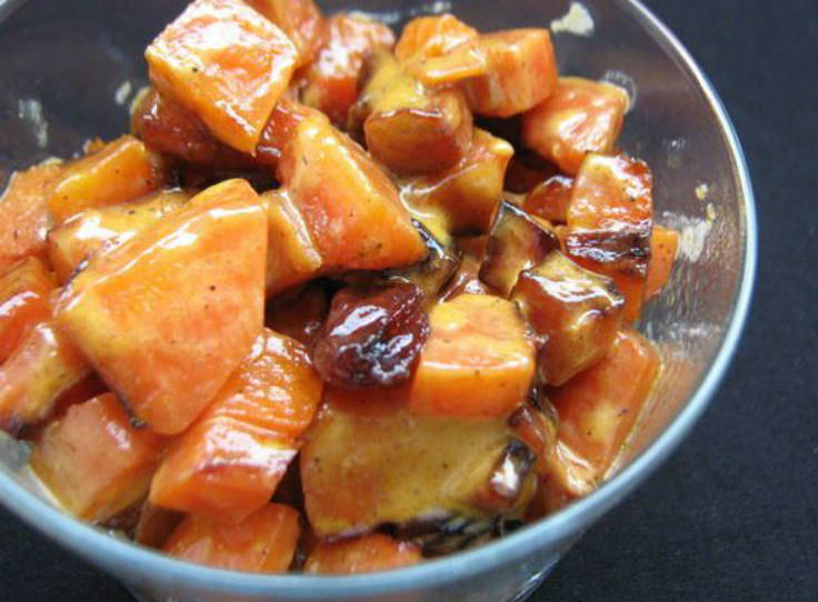 Zanahorias agridulces