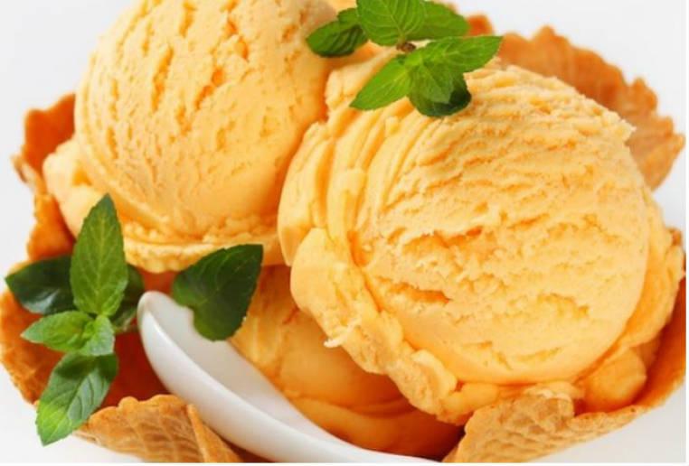 Cómo hacer helado de naranjas light al té verde