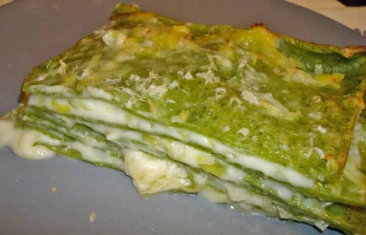 Lasaña verde