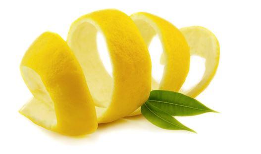 Receta de Pudin de Pan - Corteza de limón