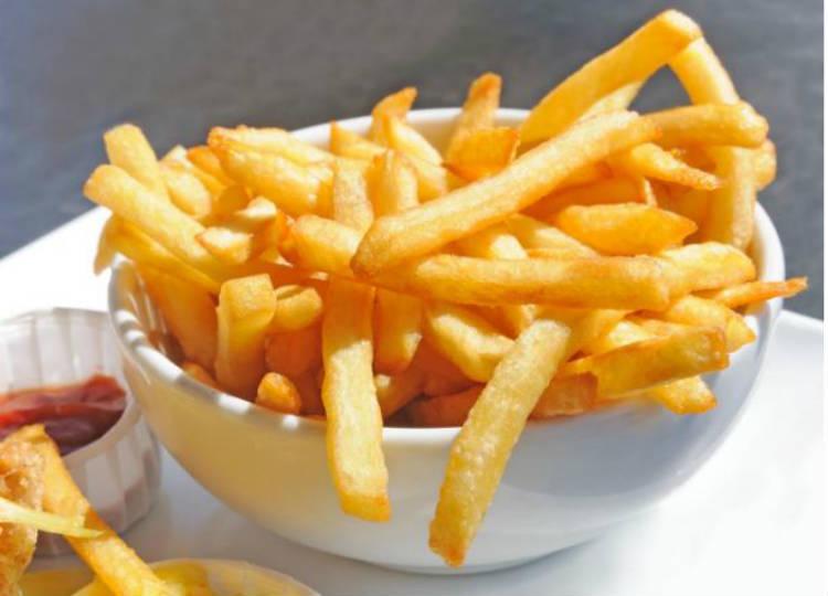 Patatas fritas trucos
