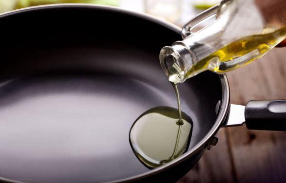 Sartén aceite