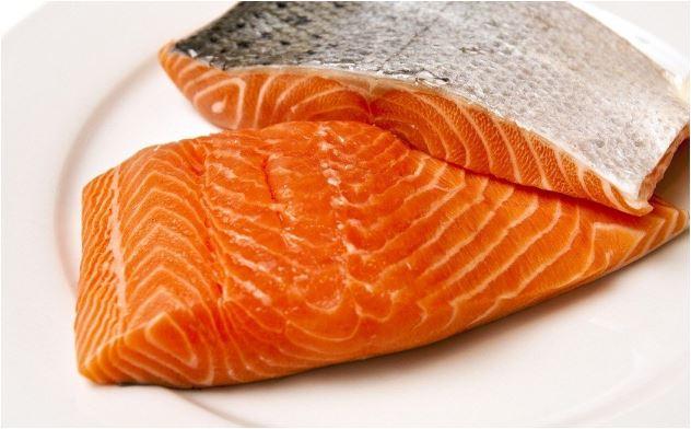 Recetas salmon con queso azul