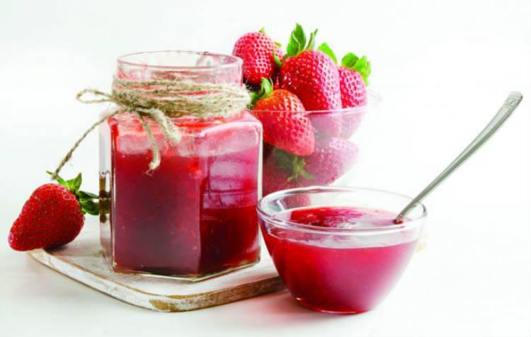 Mermelada de fresa sin azúcar añadido