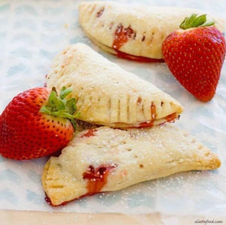 Empanadillas dulces de fresa