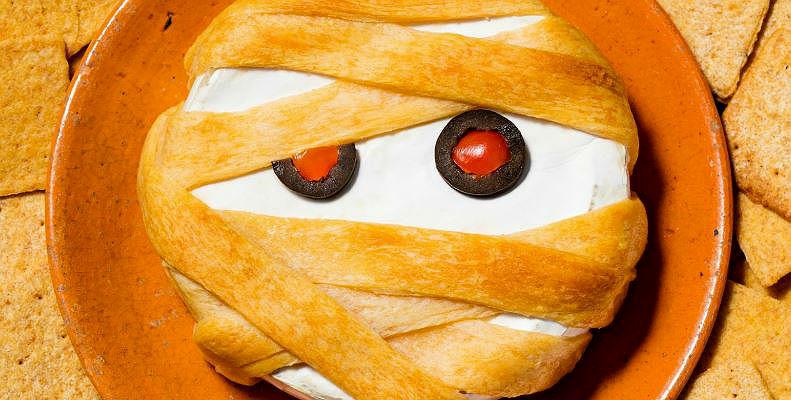 Pastel momia de Halloween
