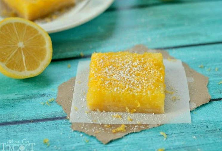 Pastelitos de limón al microondas