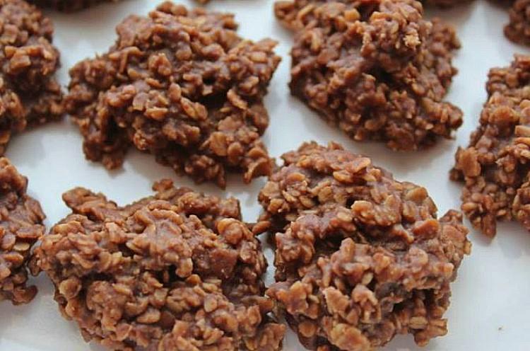 Galletas de chocolate sin azúcar añadido
