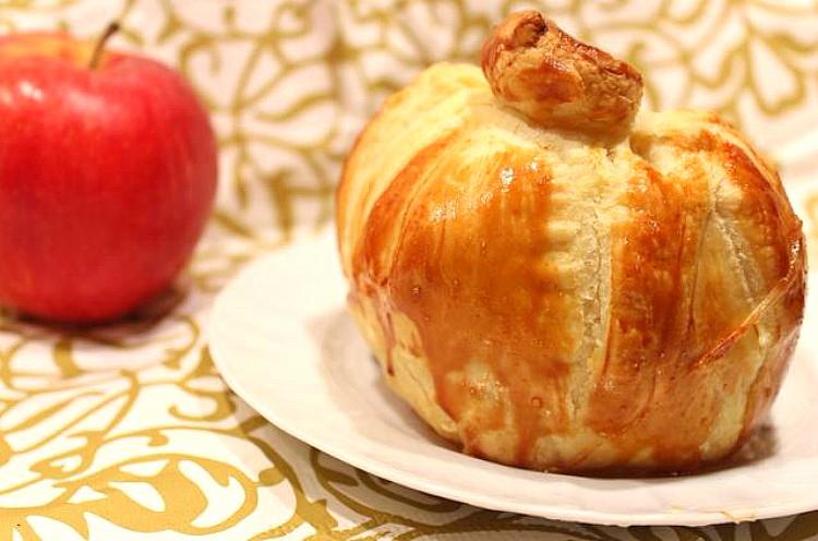 Manzanas en camisa