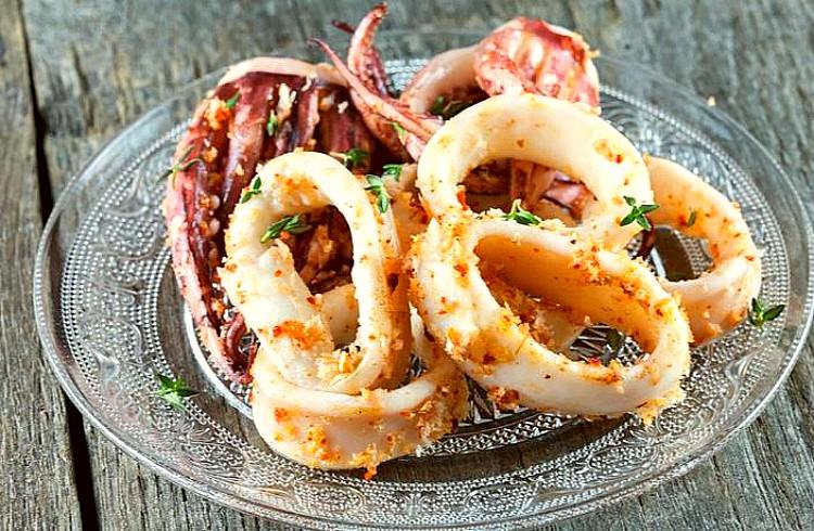 Calamares marinados