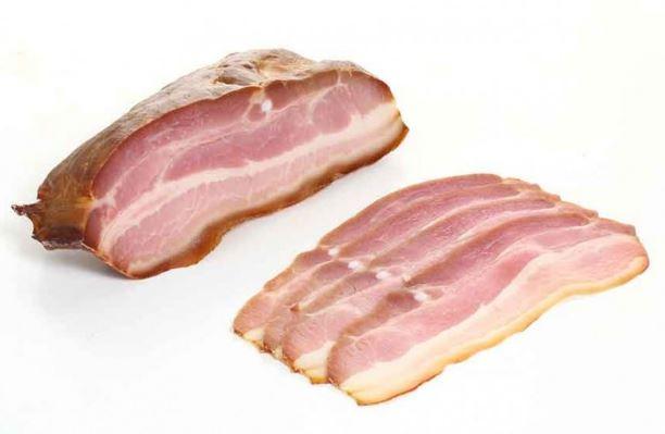 Quiche lorraine sin gluten: el beicon