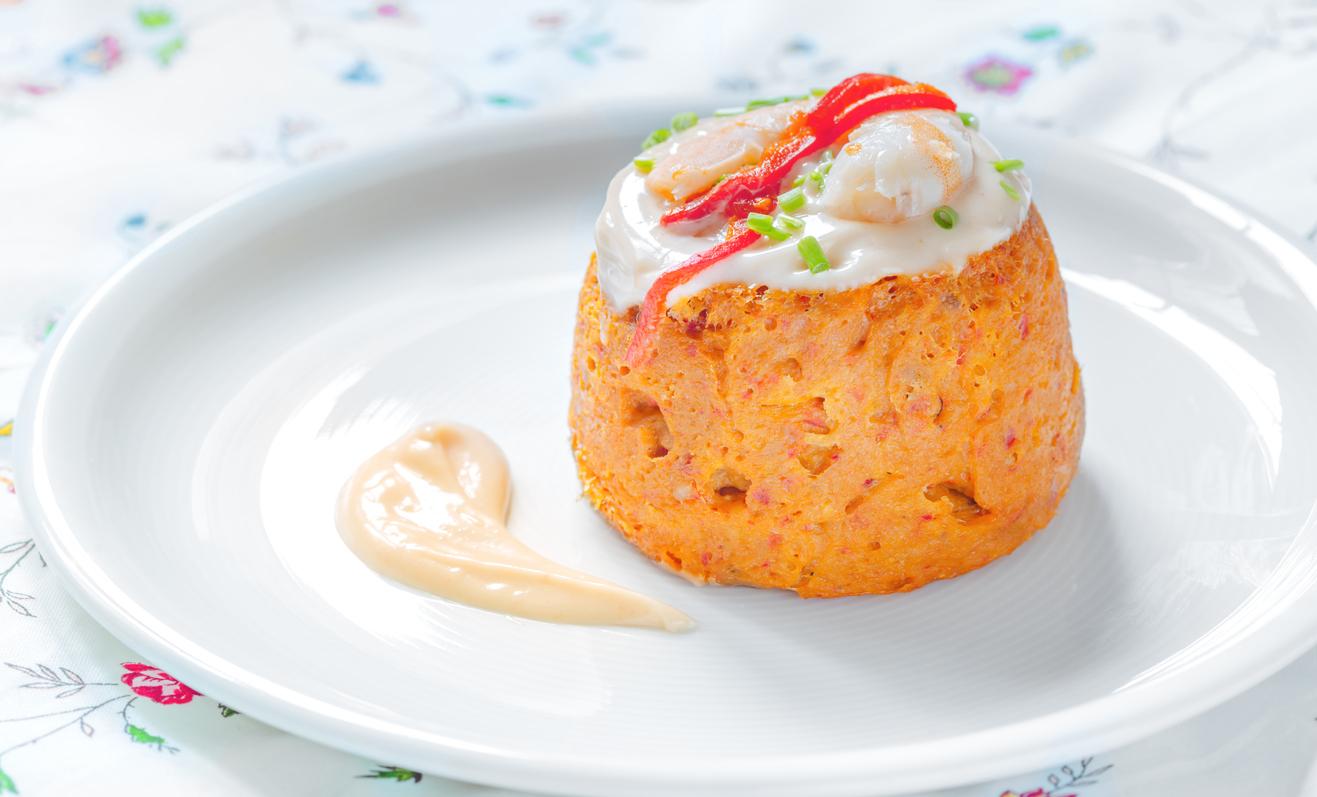 Receta de Pastel de pescado sin nata