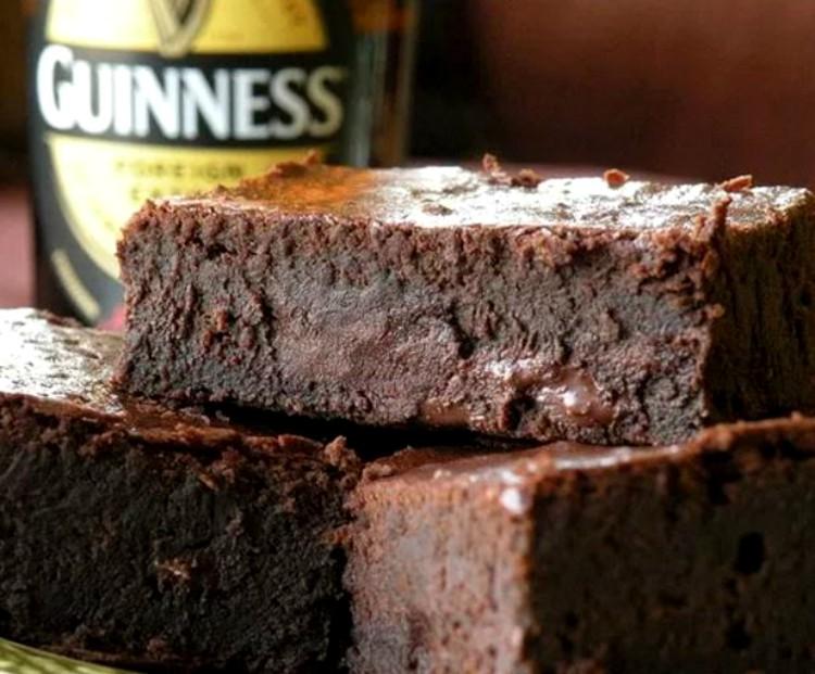 Brownies Guinness de chocolate