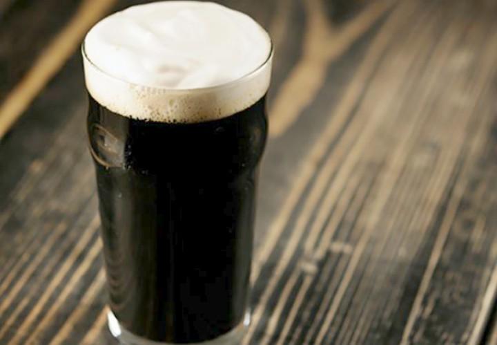 Helado de cerveza, la cerveza negra