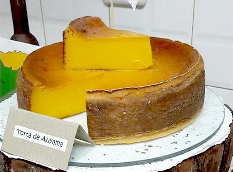 Torta de auyama (Foto: Instagram)