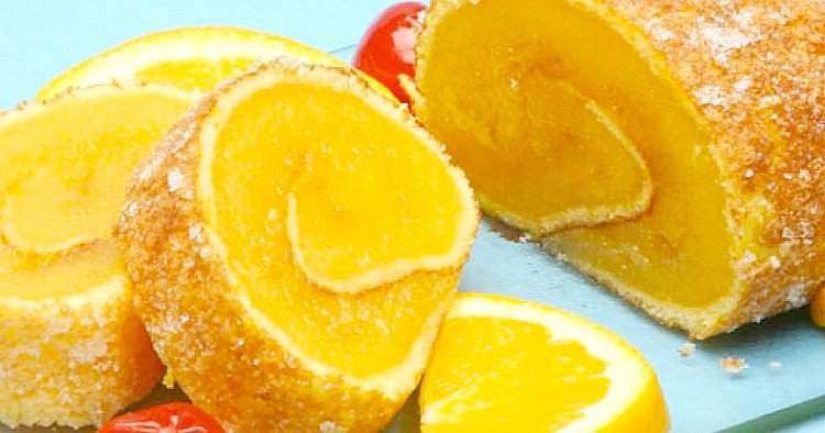 Torta de naranja a la portuguesa